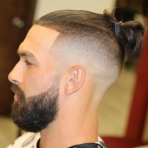 Man Bun Hairstyles7