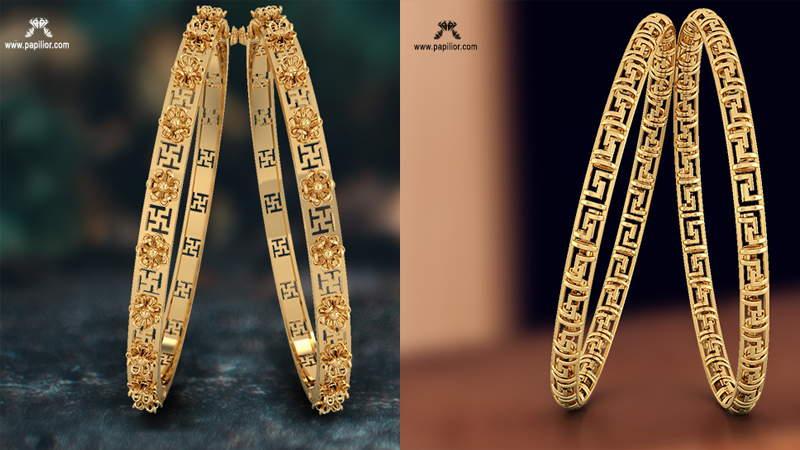 Papilior – The perfect destination for designer Gold Bangles
