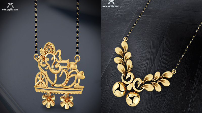 Papilior – The perfect destination for designer Gold Mangalsutra Designs