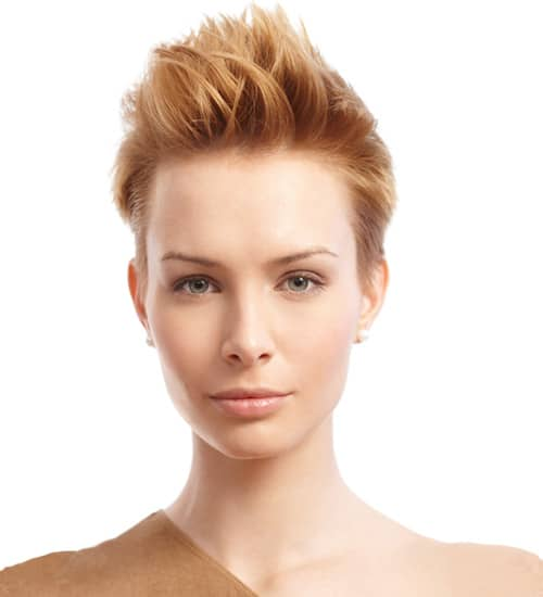 Short Funky Hairstyles 3