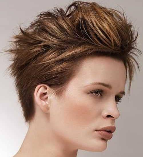 Unisex Funky Hairstyle