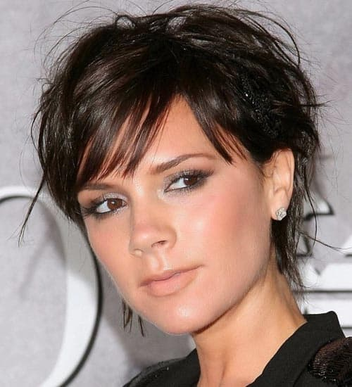 Short Funky Black Hairstyle