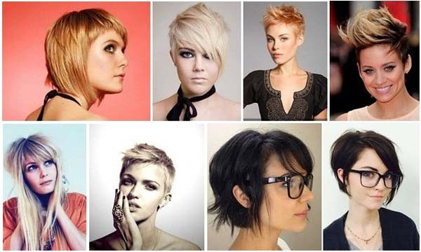 Short Funky Hairstyles for Women Main