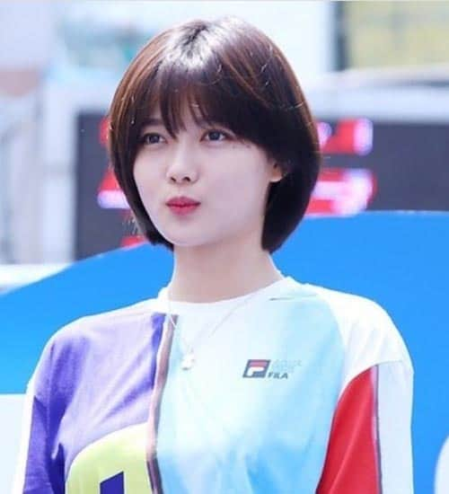 Asian Short Straight Haircut