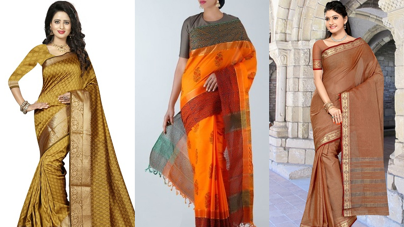 Wear These Kanchi Cotton Sarees To Display Your Tradition and Style
