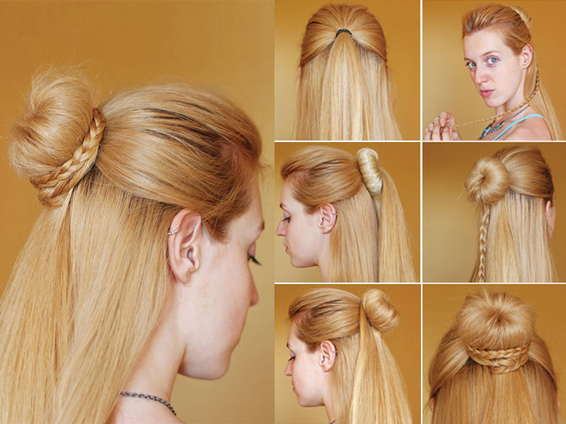 9 Best Chignon Bun Hairstyles With Step By Step Tutorials Styles At Life