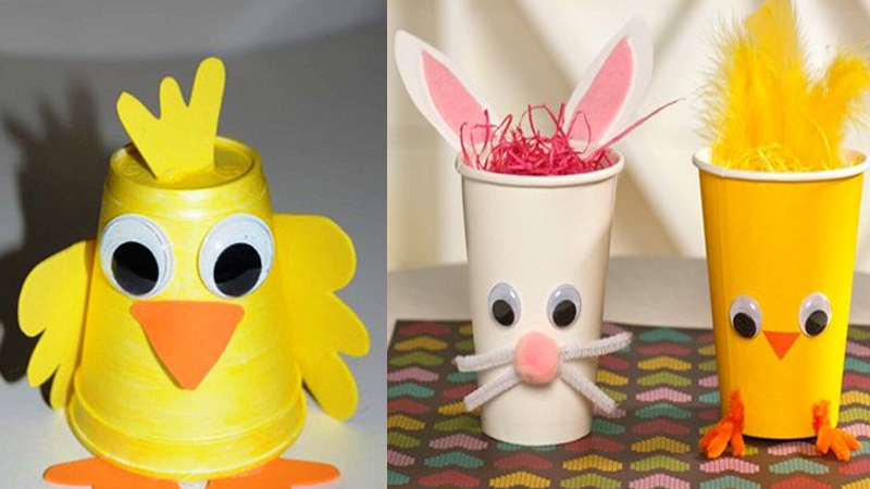Amazing Paper Cup Crafts with Pictures