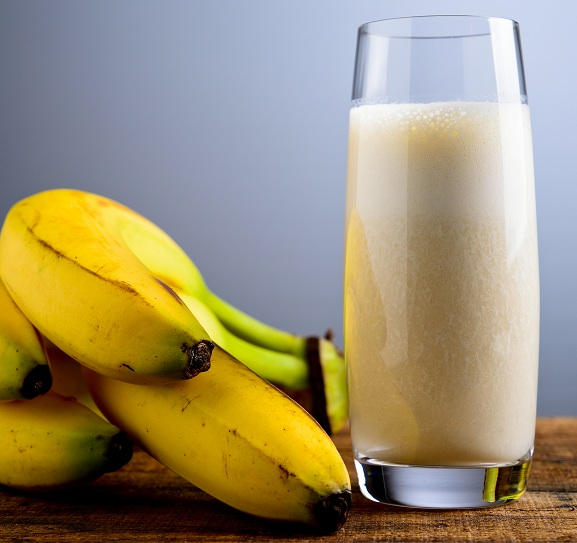 Banana Milkshake to make your breast bigger naturally