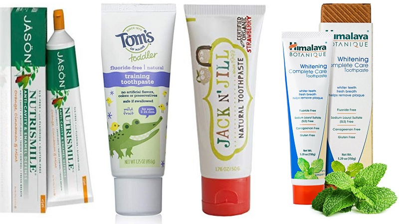 Best Fluoride Free Toothpaste List in India