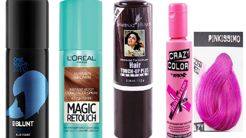Top 10 Best Hair Color Sprays Available in India | Styles At Life