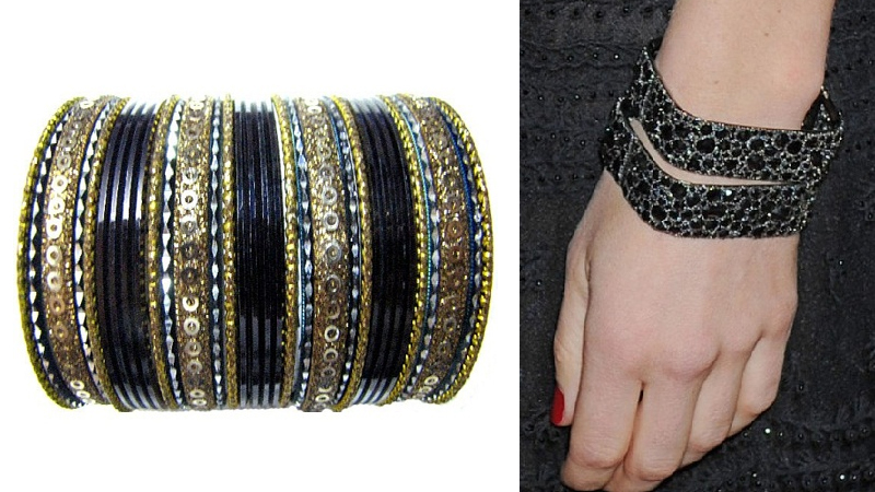 Best Shades of Black Bangles in Fashion 2019