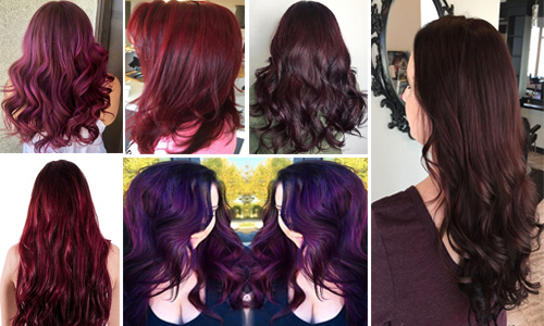 15 Best Burgundy Hair Color Shades Available in India | Styles At Life