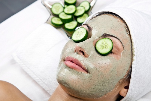 Cucumber for oily skin