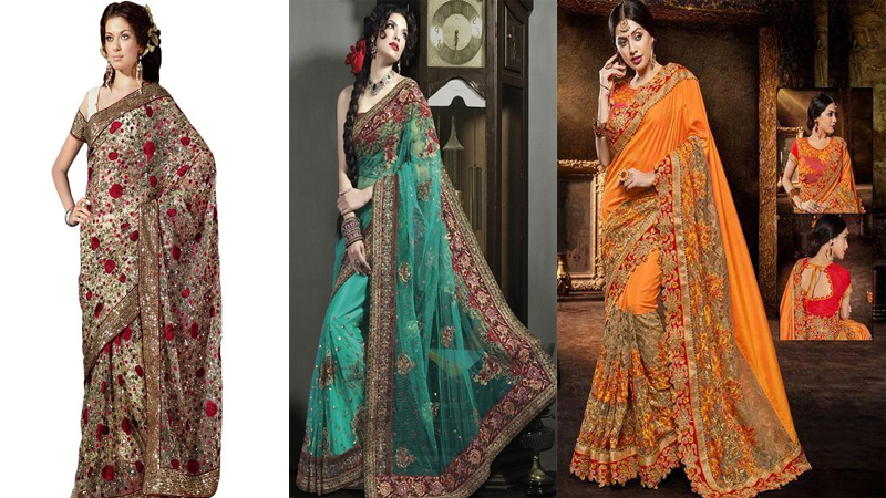 Heavy Work Sarees – These 15 Beautiful Sarees That You Looks in Regal