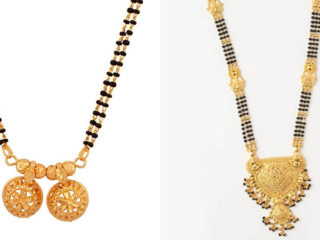 Gold Mangalsutra Designs 30 Beautiful And Latest Collection In 2020,Victoria Beckham Designs Wedding Dress
