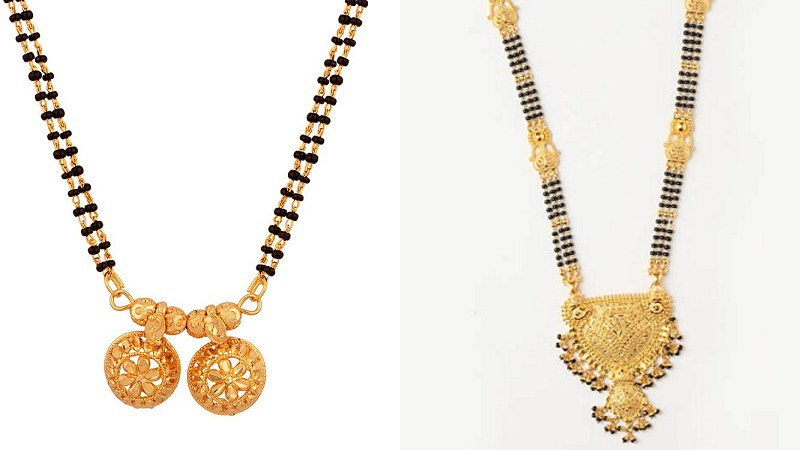 Latest 1 Gram Gold Mangalsutra Designs 2019