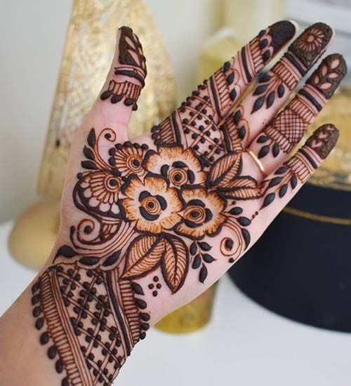Best Arabic Mehndi Design