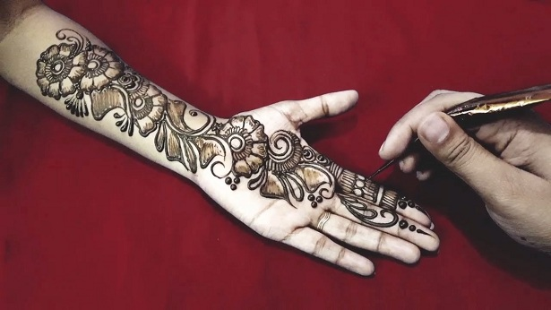 Party Style Arabic Henna Designs