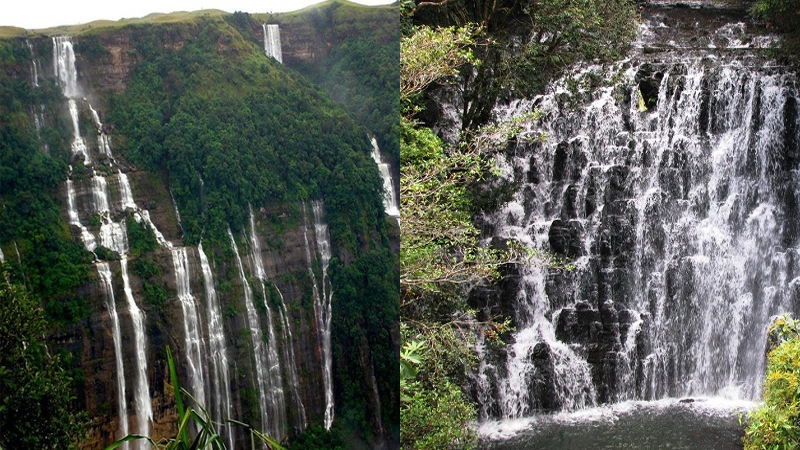 Popular Waterfalls in Meghalaya with Details
