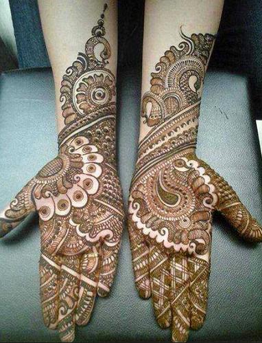 Teej Festival mehndi hands