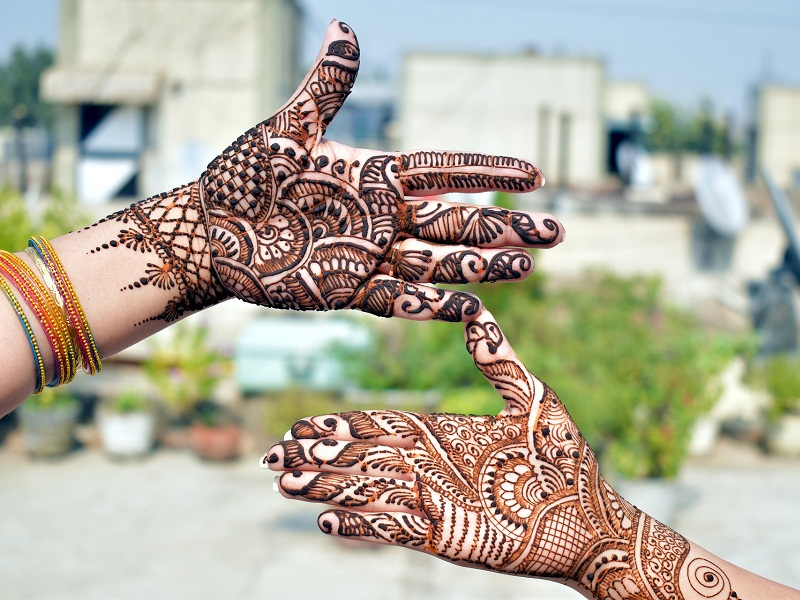 Mehndi Designs for Teej