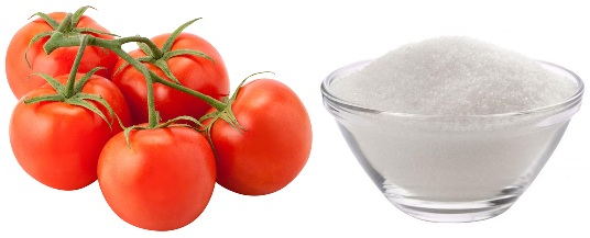 Tomatoes for oily skin