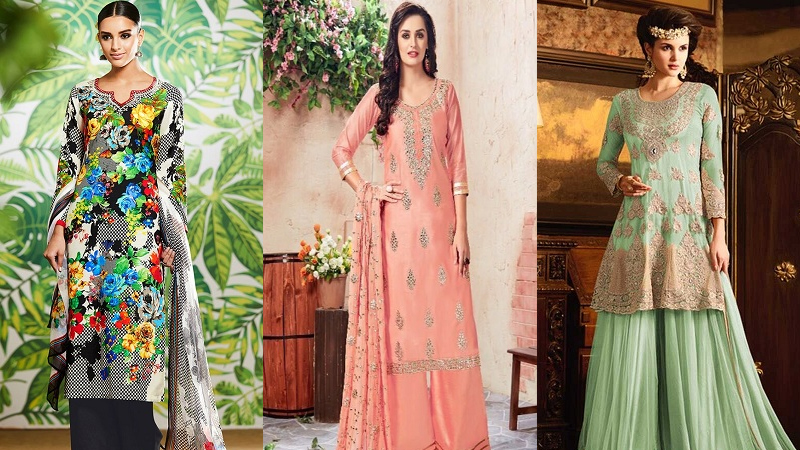 Trending Models of Palazzo Salwar Suits That Will Impress You