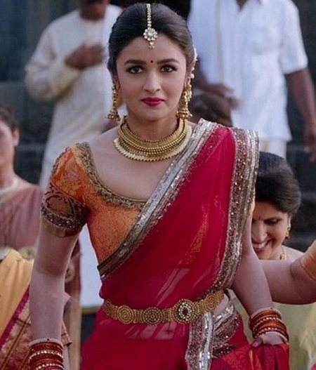 Alia Bhatt in Half Saree