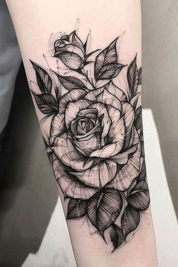Top 30 Simple Yet Beautiful Rose Tattoo Designs Styles At Life These rose tattoo design ideas will give you all the inspiration you need for your next piece of body art. beautiful rose tattoo designs