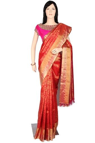 brocade sarees