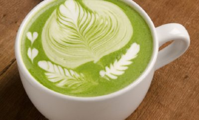 can we drink green tea with milk