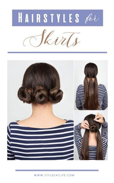 Hairstyles for Skirts