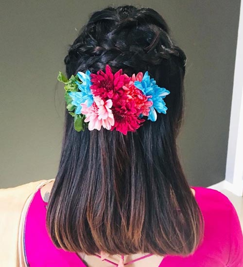 25 Latest Indian Bridal Hairstyles For All Wedding Occasions Styles At Life