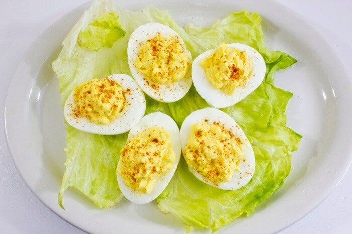 egg diet for a week