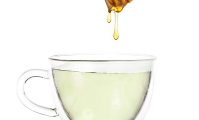 green tea and honey