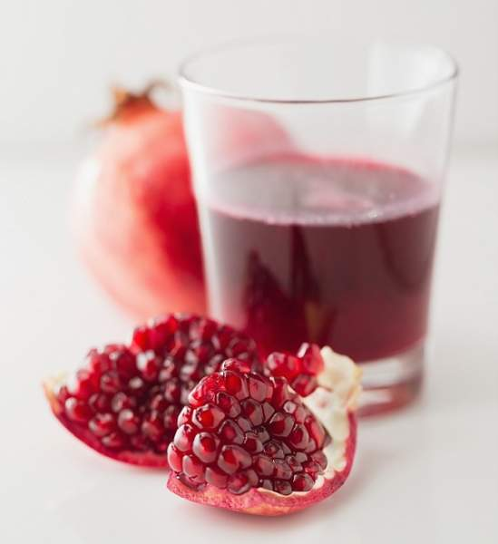 uses of pomegranate juice