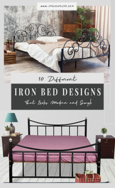 IRON BEDS DESIGNS