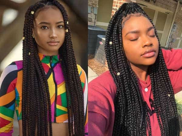 10 Latest African Braids Hairstyles For Women Styles At Life