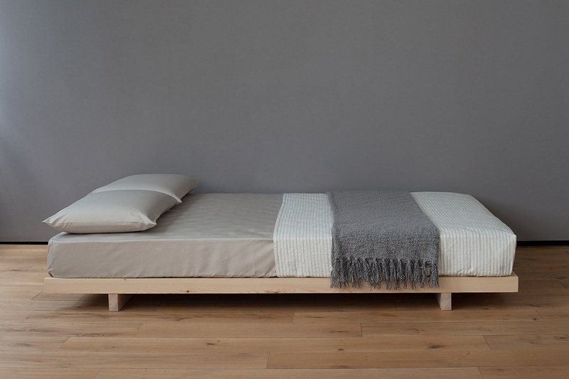 KOBE LOW BED - WITHOUT HEADBOARD
