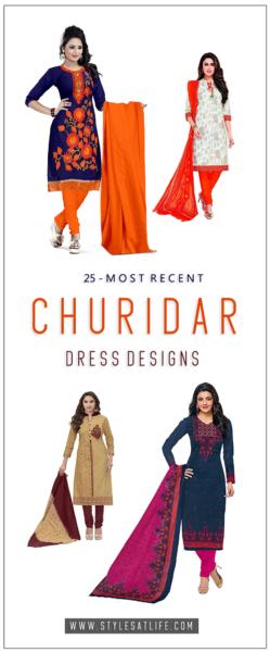 25 Latest Churidar Dress Designs To Look Like A Desi Diva Styles At Life