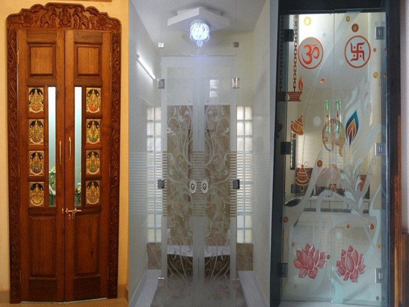 15 Modern Pooja Room Door Designs With Pictures