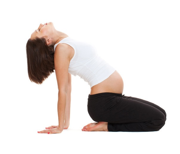 pregnancy yoga for normal delivery