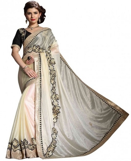 Wedding White Sarees Online: White Sarees Collection For Wedding