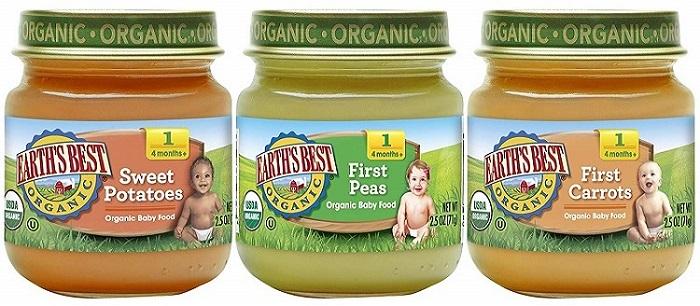 healthy organic baby food