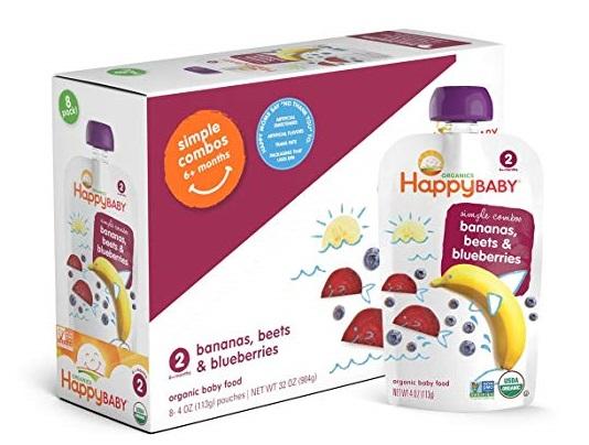 benefits of organic baby food