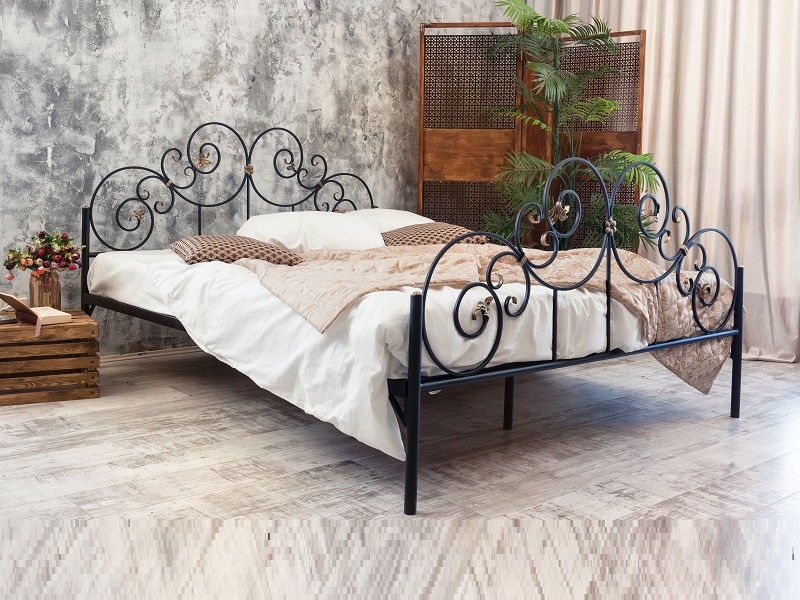 iron bed designs