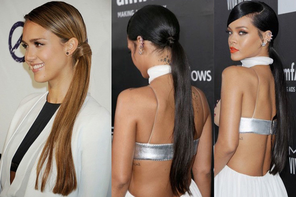 The Side Ponytail