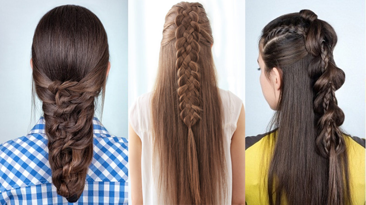 9 Easy and Simple Braided Hairstyles for Long Hair