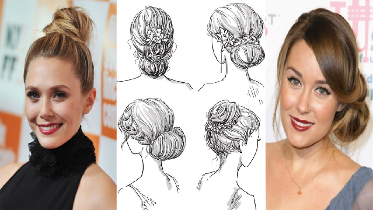 30 Simple And Beautiful Bun Hairstyles For All Occasions In 2019