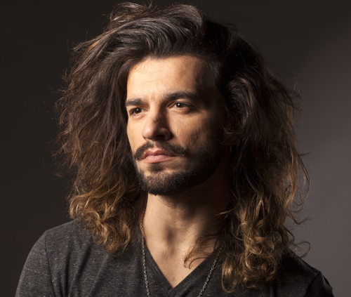 Man with Beard and Long Hair
